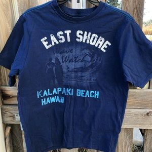 """Graphic """"East Shore"""" Short Sleeve Tee"""